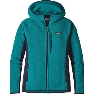 パタゴニア レディース トップス パーカー【Patagonia Performance Better Sweater Hoody】Elwha Blue