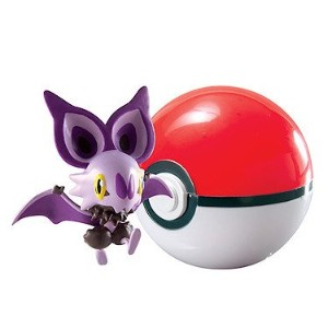 【送料無料】【Pokemon TOMY Clip n Carry Pokeball Noibat Poke Ball Figure Set】 b01cdi9rnw