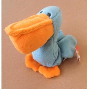 【送料無料】【TYビーニーBabies Scoop the Pelican Bird Plush Toy Stuffed Animal by不明】 b00fxe11pg