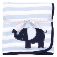 Carters Little Big Guy Elephant Blanket BLUE by Carter's