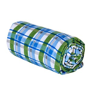 Trend Lab Swaddle Blanket, Blue Plaid by Trend Lab