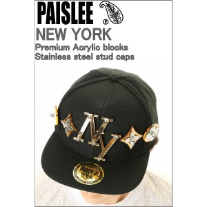 PAISLEE BRAND CAP USA VINTAGE FRAMES COMPANY USA GOLD NEW YORK ペーズリー キャップ【VINTAGE FRAMES 9FIFTY...