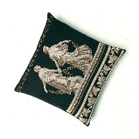 Thea Gouverneur クロスステッチ刺繍キットNo.2054 「Greek cushion」(ギリシャのクッション 39cm角) オランダ テア・グーヴェルヌール 【取り寄せ/納期40...