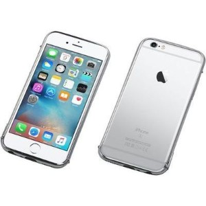 Deff Cleave Stainless Bumper for iPhone6Plus/6sPlus Polish Silver DCB-IP6SPSU3SV【納期目安:追って連絡】