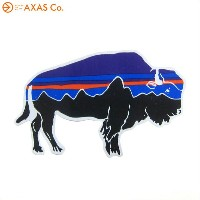 patagonia (パタゴニア) SMALL BISON FITZ ROY STICKER 92063-S ステッカー
