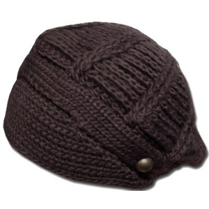 New York Hat(ニューヨークハット)ニットキャップ #4009 HIPSTER, Brown