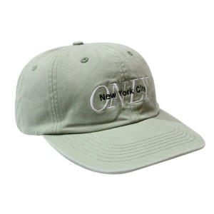 ●ONLY NY MIDTOWN POLO HAT (SAGE)オンリーニューヨーク/ストラップバック キャップ/ツイルキャップ/緑