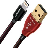 audioquest USB/CIN2/0.15M/LG (0.15m、USB-A⇔Lightning) オーディオクエスト USB Cinnamon2