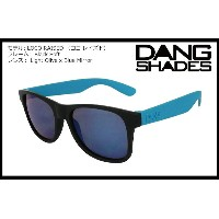 DANG SHADES LOCO RAISED Black Soft / Light Olive x Blue Mirror vidg00290 ミラーレンズ トイサングラス