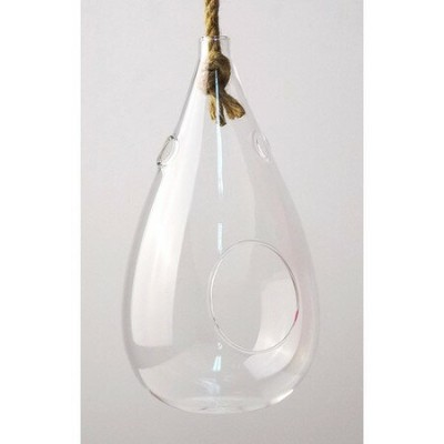 SPICE/Hanging vase with the rope Clear Sサイズ/KEGY5011【01】【取寄】[4個]《 花器、リース 花器・花瓶 ガラス花器 》
