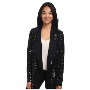 Karen Kane Sweater Knit Sequin Cardigan