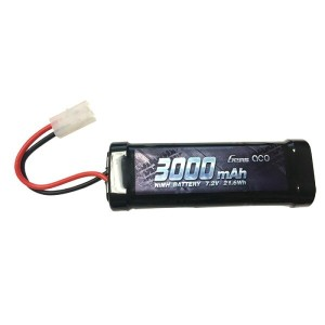 ジェンズエース/GensAce  ニッケル水素バッテリー(Gens Ace 3000mAh 7.2V Ni-MH Battery with Tamiya Plug)NIMH-3000-7.2V-TMY