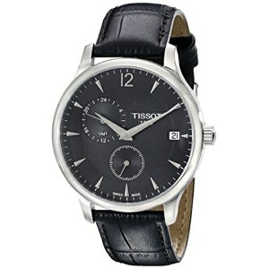 ティソ Tissot 腕時計 メンズ 時計 Tissot Men's TIST0636391605700 Tradition Analog Display Swiss Quartz Black...