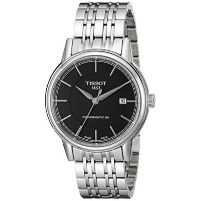 ティソ Tissot 腕時計 メンズ 時計 Tissot Men's T0854071105100 Analog Display Swiss Automatic Silver Watch