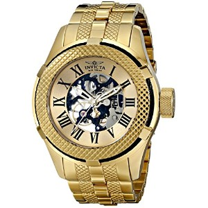 インビクタ 時計 インヴィクタ メンズ 腕時計 Invicta Men's 17180 Bolt Analog Display Mechanical Hand Wind Gold Watch