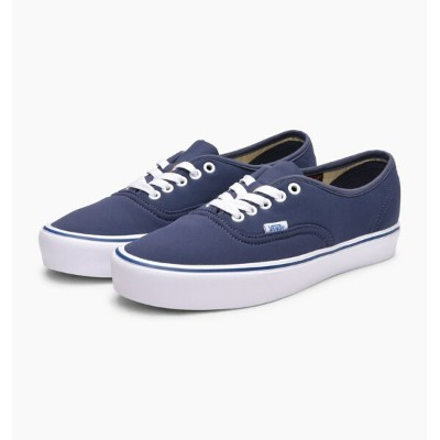 送料無料 Men's メンズ 店舗限定 海外限定 日本未発売 Vans Vault Authentic '66 Lite LX (Schoeller) Crown Blue VA38EON7U...