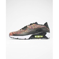 送料無料 men's メンズ 店舗限定 NIKE AIR MAX 90 ULTRA 2.0 FLYKNIT BLACK/BRIGHT CRIMSON-PARAMOUNT 875943-002 ナイキ...
