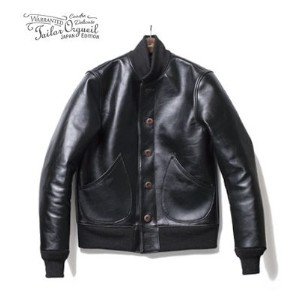 ORGUEIL オルゲイユ ホースハイド|バーシティジャケット|スタジャン『Horse Leather Varsity Jacket』【アメカジ・ワーク】OR-4036B(Leather...