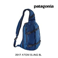 2017 PATAGONIA パタゴニア バックパック ATOM SLING 8L CHB CHANNEL BLUE