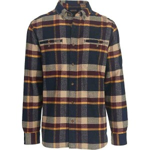 ウールリッチ メンズ トップス シャツ【Woolrich Oxbow Pass Eco Rich Flannel Shirt】Deep Indigo Herringbone