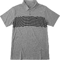 ルーカ メンズ トップス ポロシャツ【Sure Thing Polo Stripe 3 Shirts】Athletic Heather