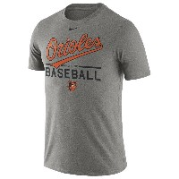 ナイキ メンズ トップス Tシャツ【Nike MLB Home Practice T-Shirt】Dark Grey Heather