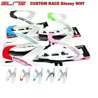 ELITE(エリート)Custom Race GLOSSY White ボトルケージ