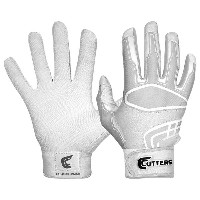 カッターズ メンズ 野球 グローブ【Cutters Prime Command Solid Batting Gloves】White