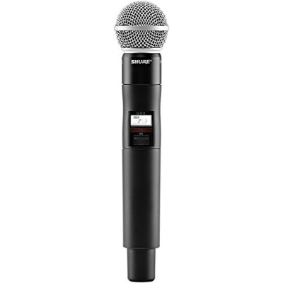 Shure QLXD2/SM58 ハンドヘルド Wireless Transmitter with SM58 Microphone, H50 「汎用品」(海外取寄せ品)