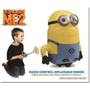 Despicable Me 2 (怪盗グルーのミニオン危機一髪) ラジコン Inflatable Minion (Dispatched from uK) お