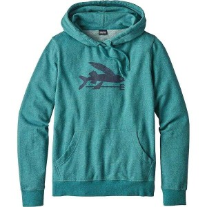 パタゴニア レディース トップス パーカー【Patagonia Flying Fish Lightweight Hoody】Elwha Blue