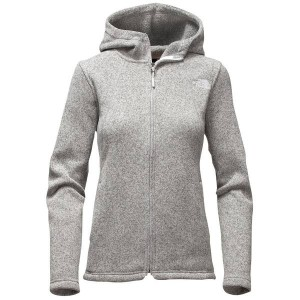 ノースフェイス レディース パーカ&スウェット アウター Women's The North Face Crescent Full Zip Hoodie Lunar Ice Grey Heather