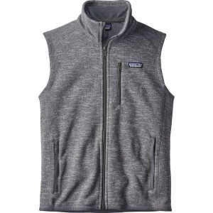 パタゴニア メンズ ベスト トップス Patagonia Better Sweater Fleece Vest - Men's Nickel
