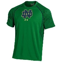 アンダーアーマー メンズ Tシャツ トップス Men's Under Armour College Apex T-Shirt Kelly Green/Navy