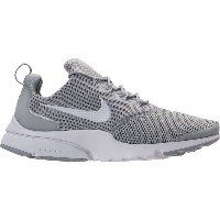 ナイキ メンズ スニーカー シューズ Men's Nike Presto Fly Running Shoes Wolf Grey/White
