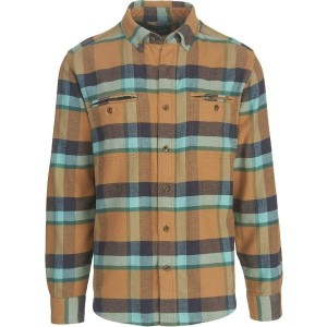 ウール リッチ メンズ シャツ トップス Oxbow Pass Modern Eco Rich Flannel Shirt - Men's Wheat Herringbone