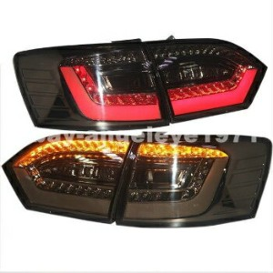 BMW テールライト VW Jetta MK6 LED Tail Lights LED Rear Lamps BMW Style 2011-2014 year Black Color...