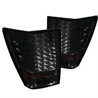 クライスラー Jeep テールライト Jeep 05-06 Grand Cherokee Smoke LED Rear Tail Lights Brake Lamp Set ジープグランドチェロキー0...