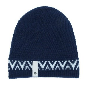 デサント(DESCENTE) LADIES KNIT CAP DKC-7220W NAV レディース ニット帽 (Lady's)