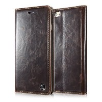 【送料無料】【Iphone 6s Case Luxury Wallet Flip Leather Case for Iphone 6s - Magnetic Cover (Brown) by...