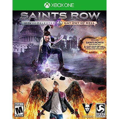 Saints Row IV Re-Elected + Gat out of Hell (輸入版:北米) - XboxOne