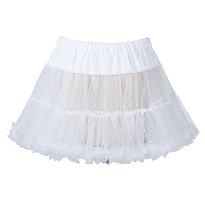 "Boolavard 18"" 50s Retro Underskirt Swing Vintage Mini Petticoat Fancy Net Skirt Rockabilly Tutu..."