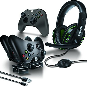 dreamGEAR XBOX ONE用 8 in 1 ゲーマーズキット ブラック