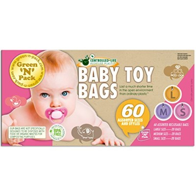 Green'N'Pack Baby Toy & Kids Accessory Bags by Green 'N' Pack