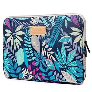 Coolbell Laptop Sleeve Leaves 13.3 Inches ブルー CMFLY0012