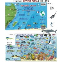 Riviera Maya Reef Creatures Fish ID for Scuba Divers and Snorkelers by Franko Maps