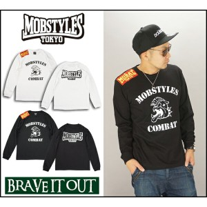 MOBSTYLES モブスタイル COMBAT L/S TEE ロングTシャツ ロングスリーブ