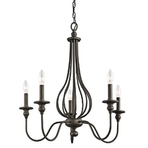43330OZ Kensington 5-Light Chandelier, Olde Bronze Finish by Kichler