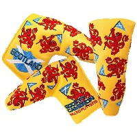 Scotty・Cameron 2013 British Open Scottish Roya Lion Headcover Yellow スコッティ・キャメロン 2013 ブリティッシュオープン...