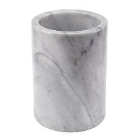 Creative Home Marble Tool Crock, White by Creative Home